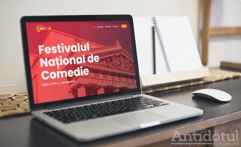 Cum poți viziona spectacolele din Festivalul Național de Comedie – Galați, 2020 (Ediție Online)