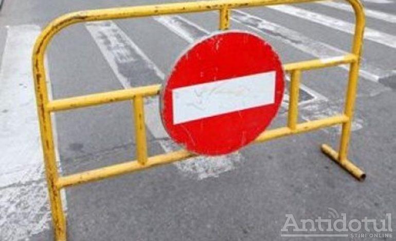 Pe aici nu se trece: strada 1 Decembrie 1918 a fost închisă