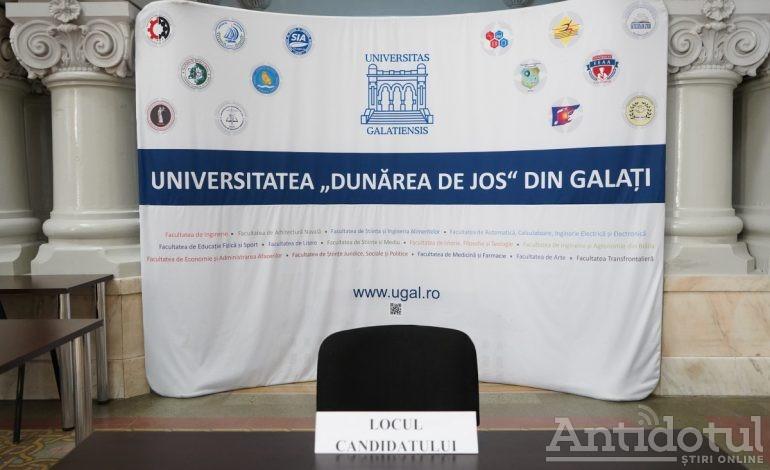 """Start sesiune Admitere – septembrie 2020 la Universitatea """"Dunărea de Jos"""" din Galați"""