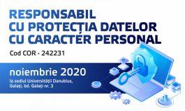Responsabil cu protecția datelor cu caracter personal - Program de formare