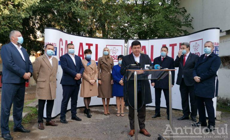 VIDEO PSD Galați vrea să trimită în Parlament nouă gălățeni