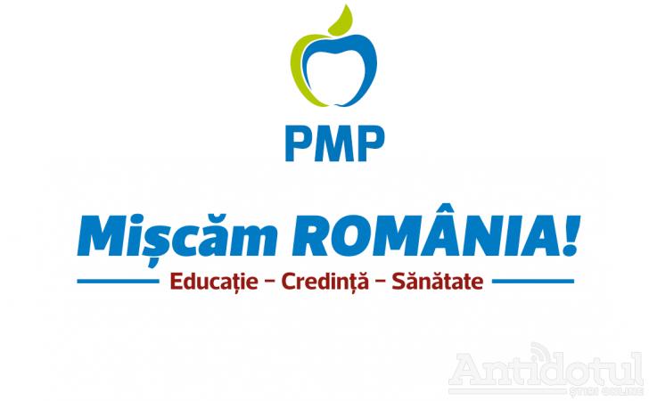 """PMP a prezentat programul de guvernare """"Mişcăm România"""""""