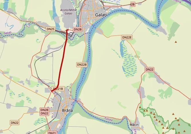 Drumul expres Galați – Brăila începe. Deocamdată, cu exproprieri