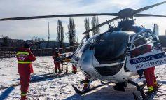Misiune aeriană pentru salvarea unui copil din Galați