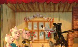 """""""Cei trei purceluși"""" readuc bucuria poveștilorla Teatrul """"Gulliver"""""""