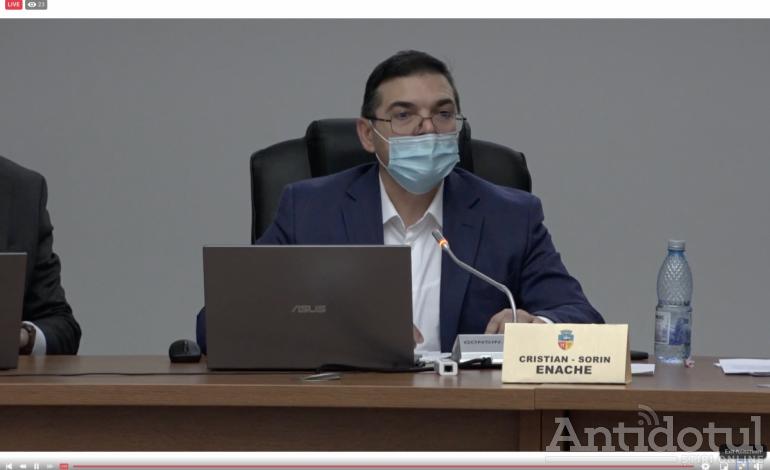"""Sorin Enache: """"Întrerup aceste discuții, nu sunt de acord să se facă politică în Consiliul local"""""""