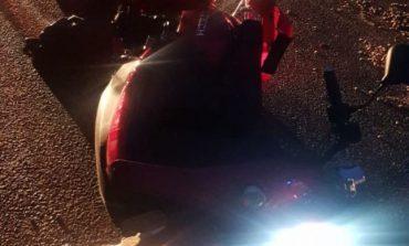 Accident rutier la ieşire din Constanţa: şoferul unui moped a fost rănit