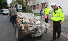 Mașinile și căruțele care aruncă gunoi vor fi confiscate