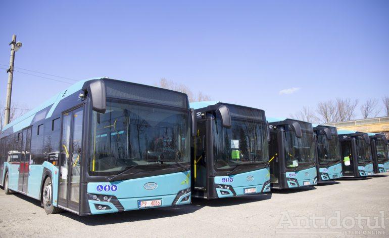 Gașca de autobuze hibrid se mărește. Încă șase autovehicule moderne vor circula pe traseele din Galați