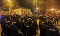 Nota de plată pentru violențele de la mitingul anti mască de la Galați. Aproape 20.000 de euro în două zile