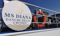 """Nava de croazieră """"Diana"""" - o noutate pentru turismul în ceea ce a mai rămas din Delta Dunării"""