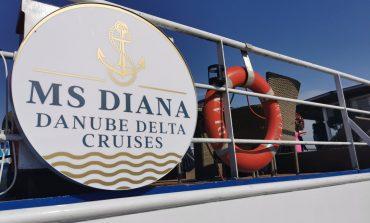 """Nava de croazieră """"Diana"""" – o noutate pentru turismul în ceea ce a mai rămas din Delta Dunării"""