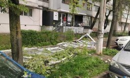 Boom, boom. Un apartament din orașul Galați a sărit în aer