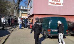 VIDEO/Foamea bate pandemia: gălățenii s-au îmbulzit la ajutoarele alimentare și de igienă de la UE