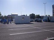 UPDATE / Am aflat cât timp va funcționa centrul de vaccinare din mașină (drive-through) din Galați