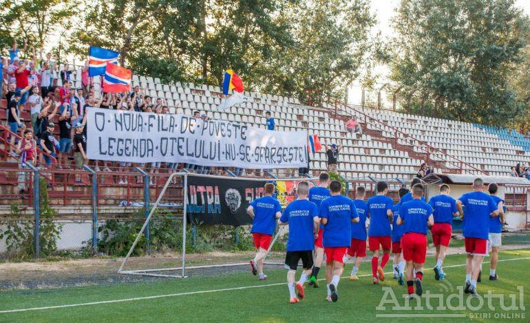 Gălățenii revin pe stadion. Reguli stricte la meciul Oțelul Galați – Dacia Unirea Brăila