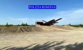 Fără număr: polițiștii au confiscat o volă și nisip în valoare de peste 300.000 de euro