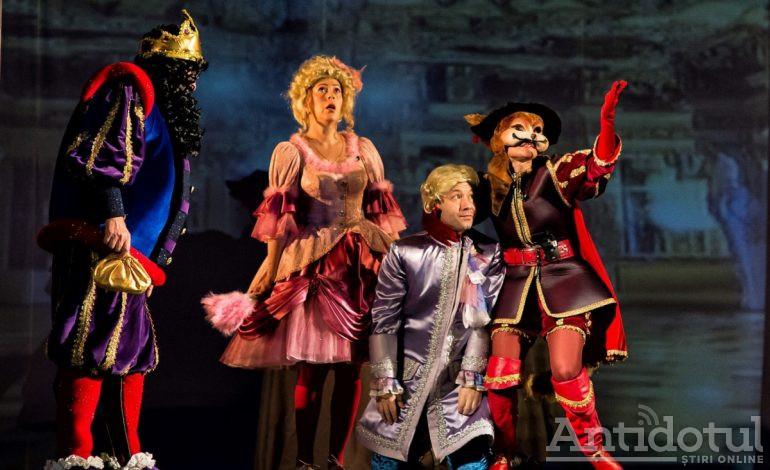 """""""Motanul Încălțat"""" deschide noua lună a poveștilor la Teatrul """"Gulliver"""""""