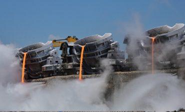 """Zgura de la combinatul gălățean va salva planeta. O tehnologie inovatoare este folosită pentru obținerea unui ciment """"eco"""""""