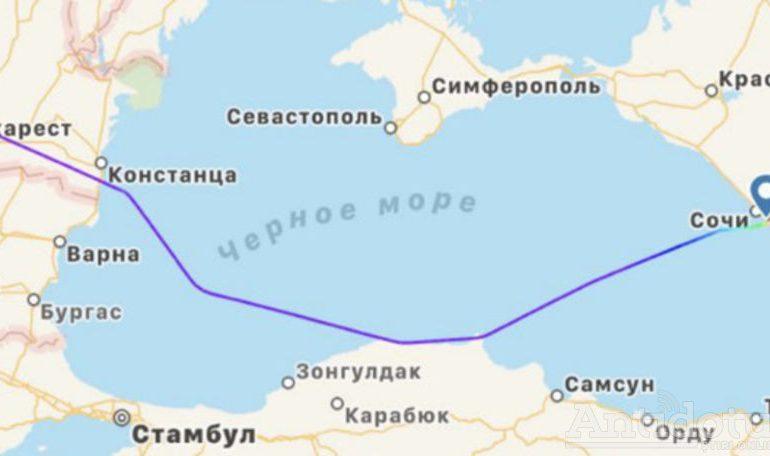 """Traseul aeronavei lui Putin către Geneva a ocolit """"un pic"""" Ucraina"""