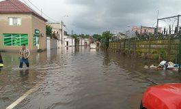 Locuințele lacustre: orașul Galați, inundat de două ori în 48 de ore