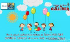 """Activități de vacanță și joacă distractivă cu Teatrul """"Gulliver"""""""