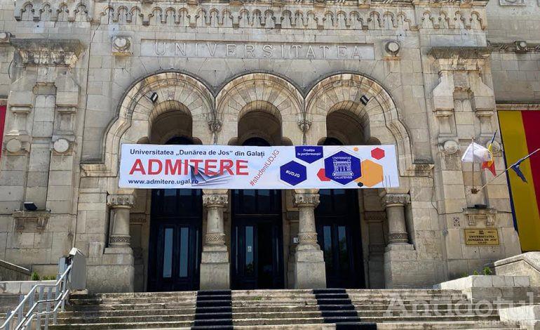 """Concurs de Admitere pentru anul universitar 2021-2022 la Universitatea """"Dunărea de Jos"""""""