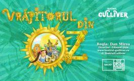 """Magia unică a lui Oz revine la Teatrul """"Gulliver""""  în această duminică, 19 septembrie, de la ora 10:30"""