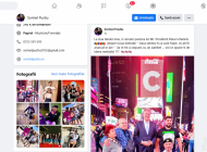 România educată, varianta internațională: Iohannis se pozează cu maneliști semianalfabeți prin New York