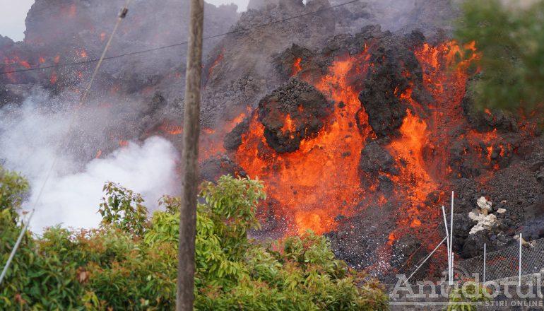 Norul toxic de la vulcanul din La Palma ajunge azi în România. Gălățenii și brăilenii vor fi afectați