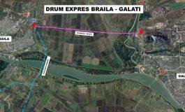 A început să se dea cu sapa pentru drumul expres Brăila - Galați