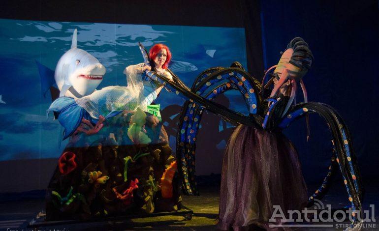 """Universul fanteziei se dezvăluie spectatorilor, alături de """"Mica Sirenă"""",  la Teatrul """"Gulliver"""""""