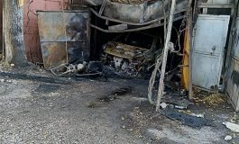 Un bărbat a murit într-un garaj cuprins de flăcări