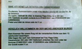 Am aflat cine are chieile Cetăţii din Cisnădioara