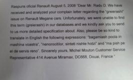Băşcălie de Renault