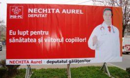 Candidatul PSD Aurel Nechita trebuie internat la nebuni