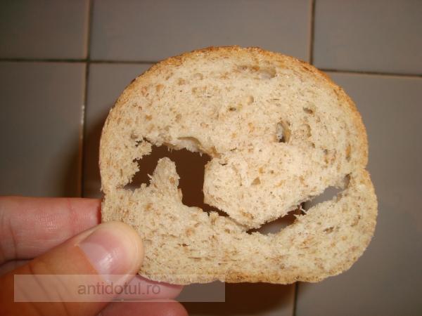 Galmopan vinde pîine gata găurită