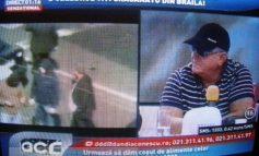 Crăcănatu şi alt interlop din Brăila şi-au dat omor în direct, la OTV