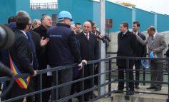Politicienii au tras ca muştele la inaugurarea Hidrocentralei de la Movileni