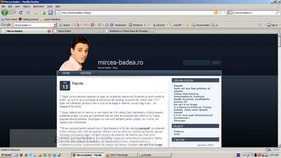 Lui Mircea Badea îi place În gura blogărilor