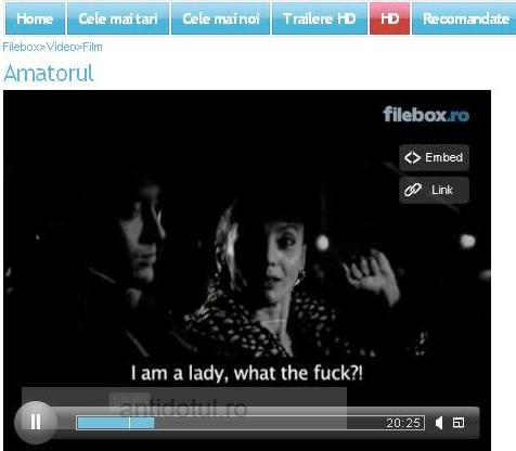 Amatorul. Cel mai bun scurtmetraj românesc din 2009 (varianta full video, necenzurată)