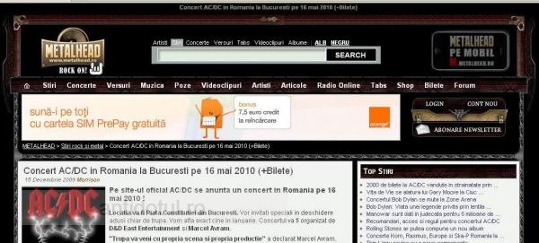 Cum s-au băgat cocalarii de la Iris în deschiderea concertului AC/DC de la Bucureşti