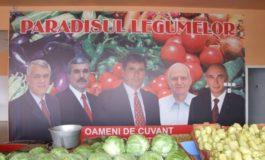 Paradisul legumelor e plin de varză, ardei graşi şi oameni de cuvînt