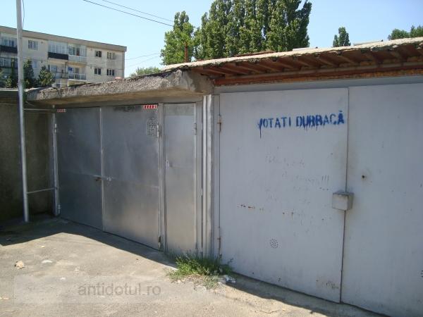 Votați Durbacă care v-a umplut Galațiul de garaje!