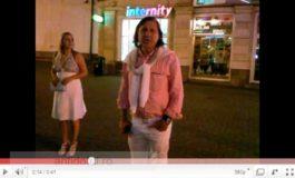 Marele tenisman Ilie Năstase, beat muci, înjură ca mîrlanul o femeie pe stradă (video)
