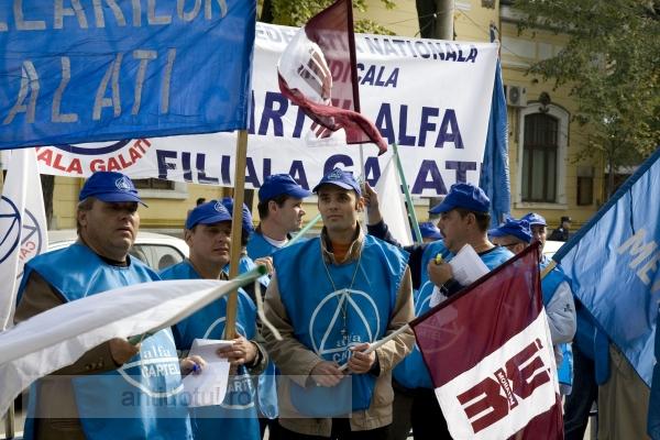 Sindicaliștii de la Cartel Alfa i-au făcut o poștă pe pedeliști