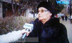 Ce a cerut o babă în direct la Vox TV