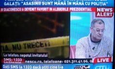 """Fratele lui Chiaburu, în direct la OTV: """"Marcel a fost ucis de 12 inşi, nu de ălea două săgeţi. Poliţistul Căpătan ştie asta"""""""