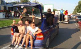 Zeci de țărănoi, la petrecerea campioanei Oțelul Galați (foto)