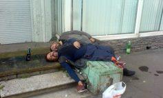 Oameni ai muncii, rupți de oboseală